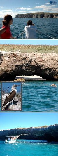 Islas Marietas, Playa escondida, playa del amor. Tours